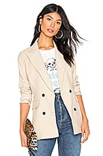 by the way. Hally Double Breasted Blazer in Ecru