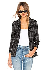 by the way. Jessamin Double Breasted Blazer in Black