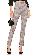 by the way. Jimi Cropped Pant in Plaid Multi