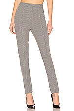 by the way. Justina High Waisted Pants in Houndstooth