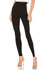 by the way. Joni Side Stripe Legging in Black & White