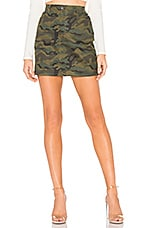 superdown Bela Camo Mini Skirt in Camo