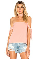 by the way. Cynthia Off Shoulder Top in Blush