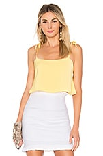 superdown Melody Tie Cami Top in Yellow
