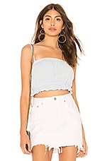 by the way. Amani Crop Top in Light Blue