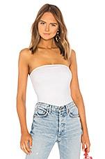 superdown Ally Tube Bodysuit in White