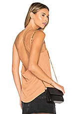Gracie Cowl Top in Nude
