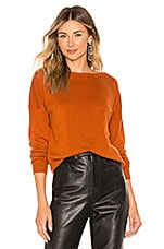 SWTR The V Back Sweater in Sienna