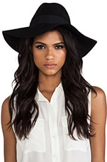 Top it Off Obila Hat in Black
