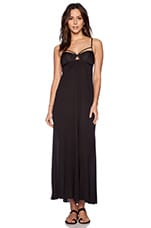 Vagabond Maxi Dress in Blackout Modal