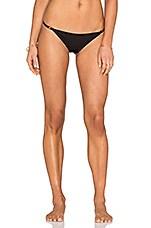 Eclipse Bikini Bottom in Blackout
