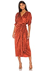 Callahan Sami Dress in Rust
