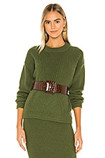 Callahan Malone Sweater in Moss