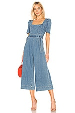 C/MEO Out Of Sight Jumpsuit in Blue Denim