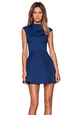 Daydreaming Dress in Empire Blue