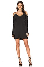 ROBE MINI COLD SHOULDER