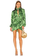 C/MEO Renew Dress in Green Washed Floral