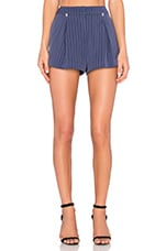 Disposition Short en Navy Stripe