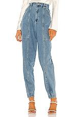 C/MEO Peripheral Jean in Blue Denim