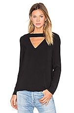 All Cried Out Top in Black