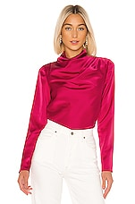 C/MEO Late Thoughts Blouse in Fuchsia