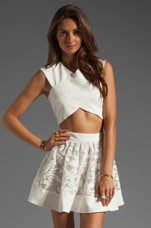 Snow City Top in White