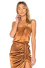 CAMI NYC The Sweetheart Cami in Walnut