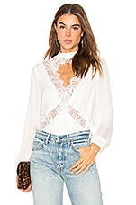 CAMI NYC The Skylar Blouse in White