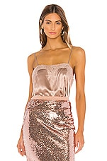 CAMI NYC The Sweetheart Charmeuse Cami in Rose Dust