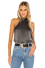 CAMI NYC The Wendy Blouse in Iron