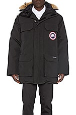 Expedition Coyote Fur Trim Parka en Noir