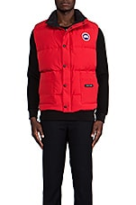 Freestyle Vest en Rouge