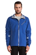 Timber Shell Jacket en Bleu Pacifique