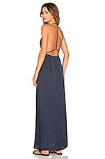 Halter Neck Maxi Dress in Navy