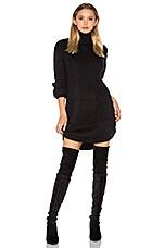 Neve Sweater Dress in Black