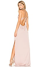 Capulet x REVOLVE Deep V Maxi Dress in Nude