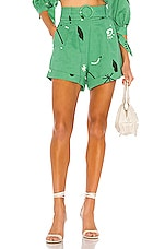 Capulet Petra Belted Shorts in Carnivale Print