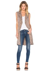 Sleeveless Trench en Ash