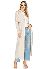 Capulet Bella Unstructured Trench Coat in Flax