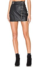 Stella Moto Skirt in Black
