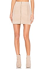 Stella Mini Skirt in Blush