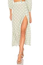 Capulet Madie Midi Skirt in Polka Dot