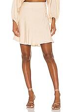 Capulet Sasha Mini Skirt in Almond