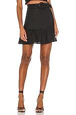 Capulet X REVOLVE Bobbi Belted Mini Skirt in Black