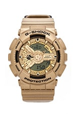 GA110GD-9A in Light Gold