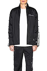 Champion Full Zip Jacket in Black & White