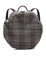 Moselle Backpack in Concrete Herringbone
