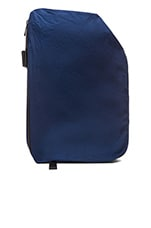 Isar Rucksack Twin Touch Memory in Black Ecoya & Midnight Blue