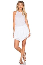 ROBE COURTE LUCIA TIERED CROCHET