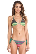 Serpentina Triangle Top in Multi